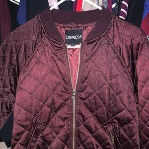 Fashion Bomber Jacket. Express